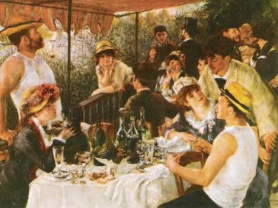 O almoço dos remadores - Auguste Renoir