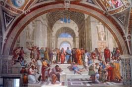 Escola de Atenas - Rafael Sanzio