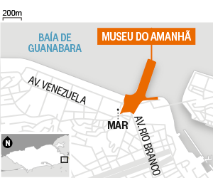 mapa museu amanha