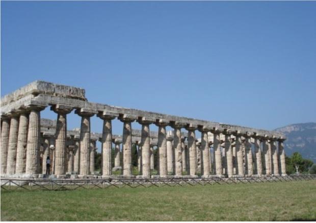 Basílica de Pestos. Magna Grécia. Meados do séc.VI a.C