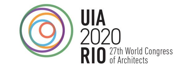 Marca criado por Gláucio Campelo para o UIA 2020