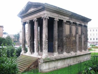 Templo da Fortuna viril. Fonte: Desconhecida.